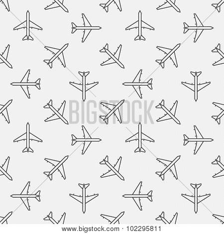 Plane seamless pattern