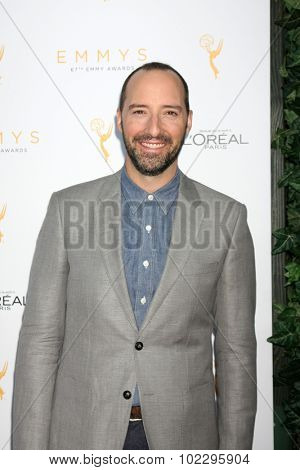 LOS ANGELES - SEP 19:  Tony Hale at the 67th Emmy Awards Performers Nominee Reception at the Pacific Design Center on September 19, 2015 in West Hollywood, CA