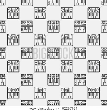 Synthesizer seamless pattern