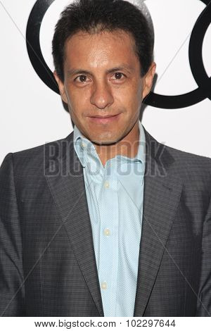 LOS ANGELES - SEP 17:  Victor Espinoza at the Audi Celebrates Emmys Week 2015 at the Cecconi's on September 17, 2015 in West Hollywood, CA