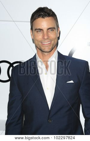 LOS ANGELES - SEP 17:  Colin Egglesfield at the Audi Celebrates Emmys Week 2015 at the Cecconi's on September 17, 2015 in West Hollywood, CA