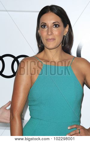 LOS ANGELES - SEP 17:  Angelique Cabral at the Audi Celebrates Emmys Week 2015 at the Cecconi's on September 17, 2015 in West Hollywood, CA