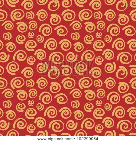 Vector seamless background with pasta