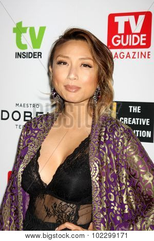 LOS ANGELES - SEP 18:  Jeannie Mai at the TV Industry Advocacy Awards Gala at the Sunset Tower Hotel on September 18, 2015 in West Hollywood, CA