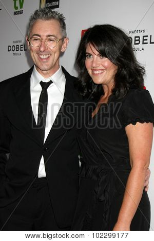 LOS ANGELES - SEP 18:  Alan Cumming, Monica Lewinsky at the TV Industry Advocacy Awards Gala at the Sunset Tower Hotel on September 18, 2015 in West Hollywood, CA