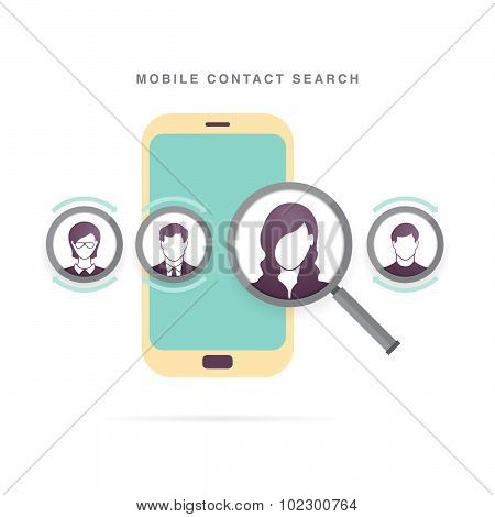 Mobile Contact Search