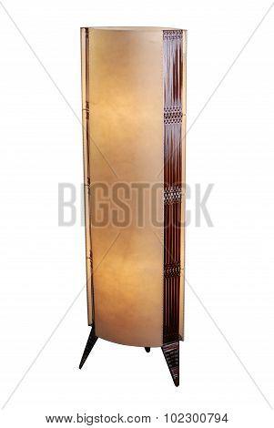 Ethnic Style Lamp Isolated Over White Background