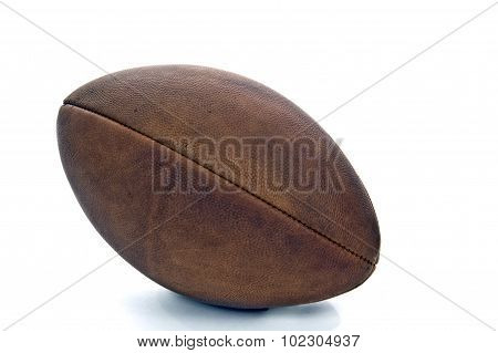 Old Worn Out Vintage Football