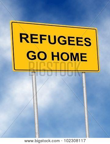 Refugees Go Home