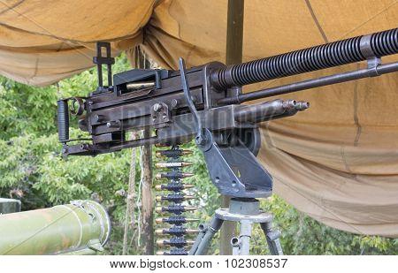 Old Machine Gun