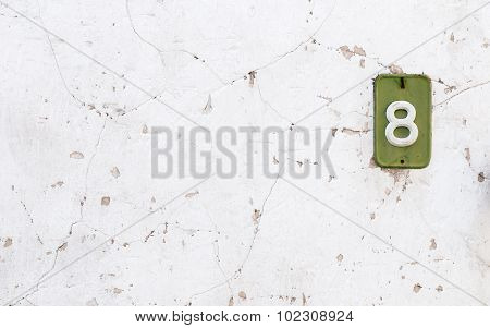 White Abstract Wall Background