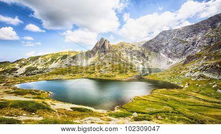 Bliznaka - Mountain Lake In Rila, Bulgaria