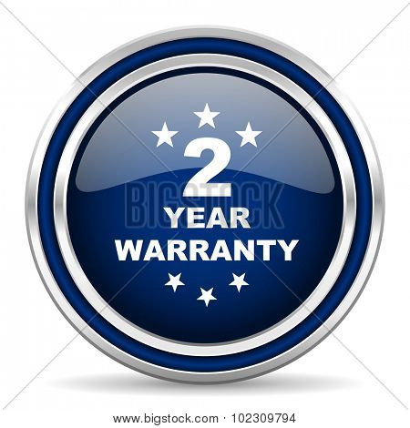 warranty guarantee 2 year icon