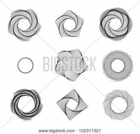 Abstract Vortex Shapes