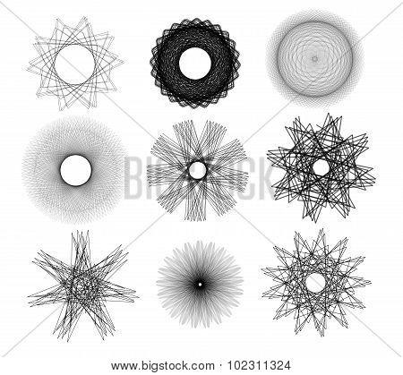 Sketchy Stars And Circles