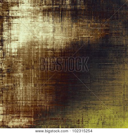 Highly detailed grunge texture or background. With different color patterns: yellow (beige); brown; gray; black