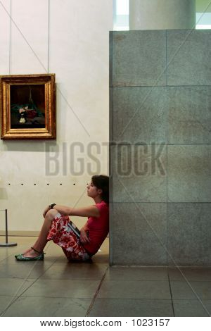 In A Gallery