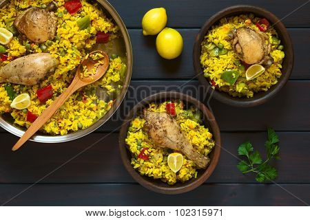 Spanish Chicken Paella