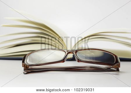 Book, Stethoscope And Glasses - Conceptual