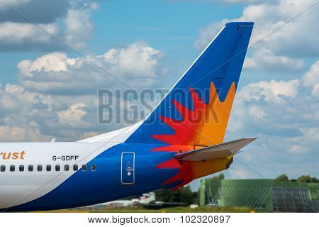 Jet2 Airlines Boeing 737 Tail