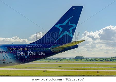 Air Transat Airbus A330 Tail
