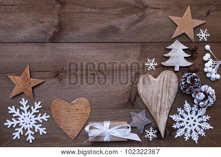 Many Christmas Decoration,Heart,Snowflakes,Tree,Present,Gift
