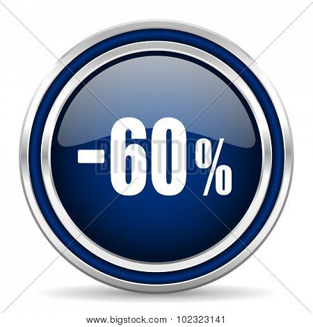 60 percent sale retail icon