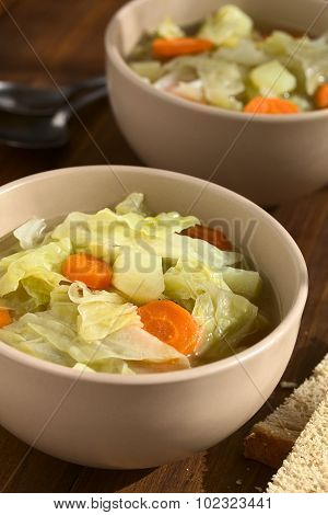 Savoy Cabbage Carrot Potato Stew