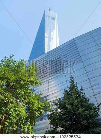 NEW YORK,USA - AUGUST 14,2015: One World Trade Center also known as The Freedom Tower in New York City