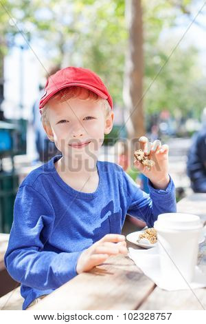 Boy In Cafe