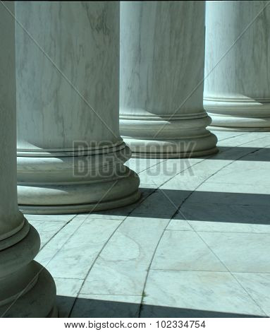 Columns in Washington D.C.