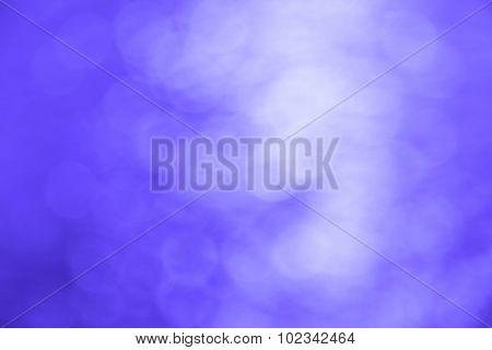 Bokeh in silver-blue tones