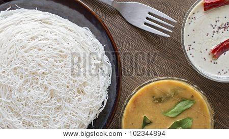Idiyappam - String Hoppers