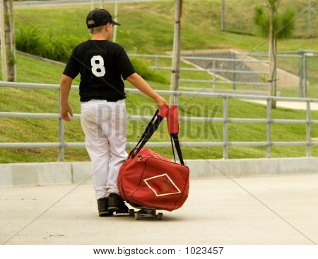 Going To Baseball Practice