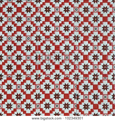 Vintage style typical middle eastern tile design patterns.