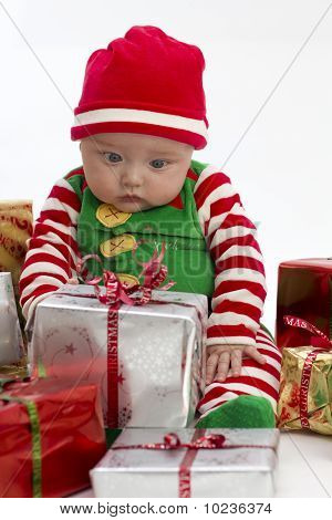 Baby And Christmas Presents