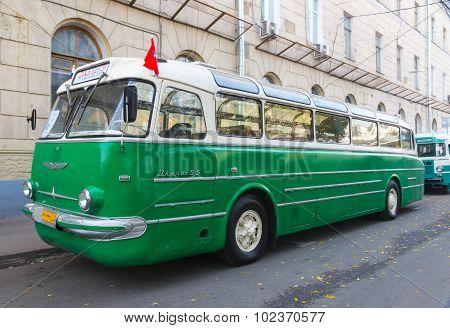 Old Bus Ikarus 55