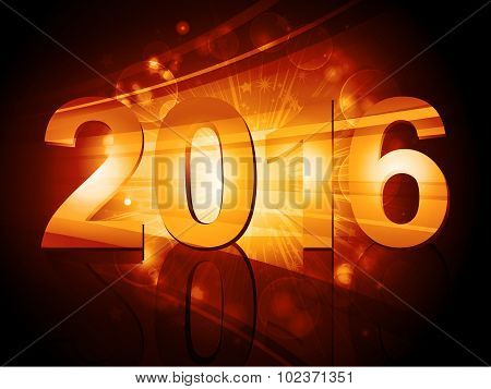 2016 New Year Starburst