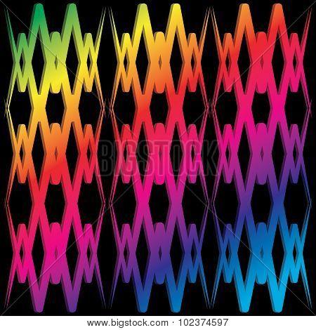 Abstract Cross Line Wallpaer