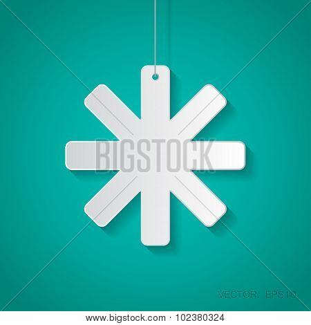 Vector star icon. Eps10