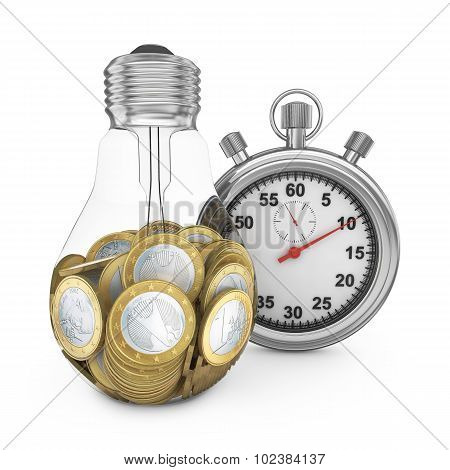 Bulb And Stopwatch