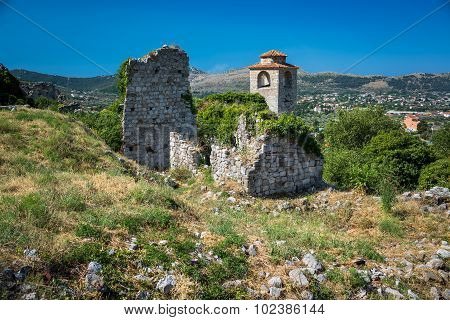 The Ruins Of Old Town Bar, Montenegro