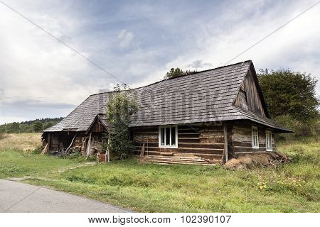 Traditional Old Wooden House, Poland