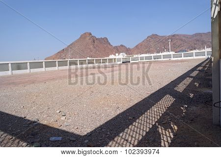 Uhud Mountain Is One Of Historical Place In Islamic History.