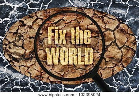 Fix The World