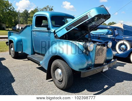 Restored 1940 pick up truck