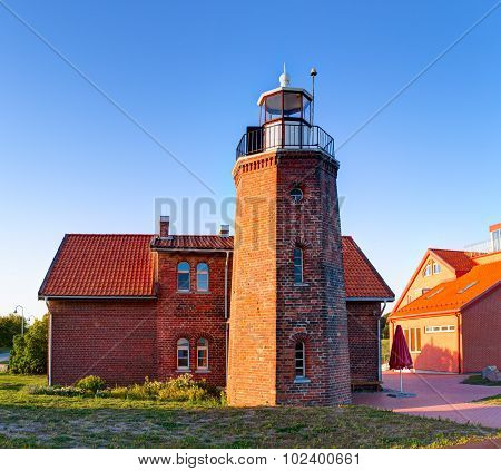 Ventes rago svyturys (eng: Vente cape lighthouse). Vente village, Lithuania