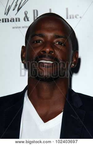 LOS ANGELES - SEP 21:  Keith Robinson at the The Human Rights Hero Awards at the Beso on September 21, 2015 in Los Angeles, CA