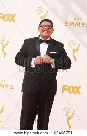 LOS ANGELES - SEP 20:  Rico Rodriguez at the Primetime Emmy Awards Arrivals at the Microsoft Theater on September 20, 2015 in Los Angeles, CA