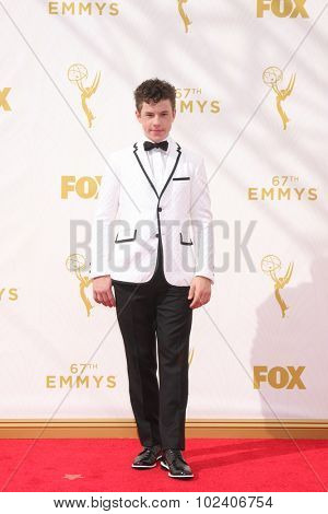 LOS ANGELES - SEP 20:  Nolan Gould at the Primetime Emmy Awards Arrivals at the Microsoft Theater on September 20, 2015 in Los Angeles, CA